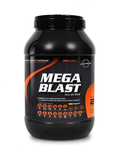 SRS Muscle - Mega Blast XL, 1.900 g, Pfirsich-Eistee | Complete All-in-one Master Stack | ersetzt über 20 Einzelprodukte | deutsche Premiumqualität