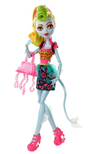Mattel Monster High CCB39 - Fatale Fusion Hybriden Lagoona/Jinafire, Puppe