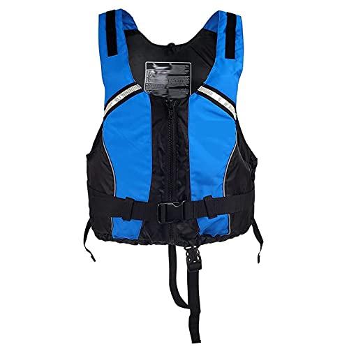 Adulto Buoyancy Assist Life Jacket Sports Water Sports Assist Assist Assist CHAQUETE APERTADOS para Pesca Pesca Salir SURFIENCIA BOQUEO Kayaking Sports Blue-S/M