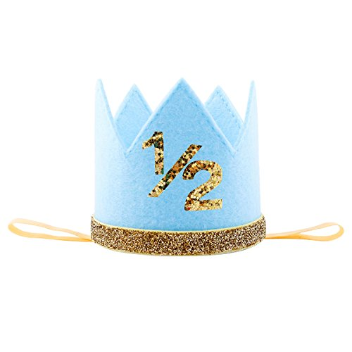 Top half birthday boy crown for 2021