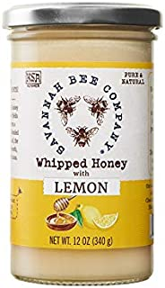 Whipped Honey - Lemon 12 Ounce Tower by Savannah Bee Company