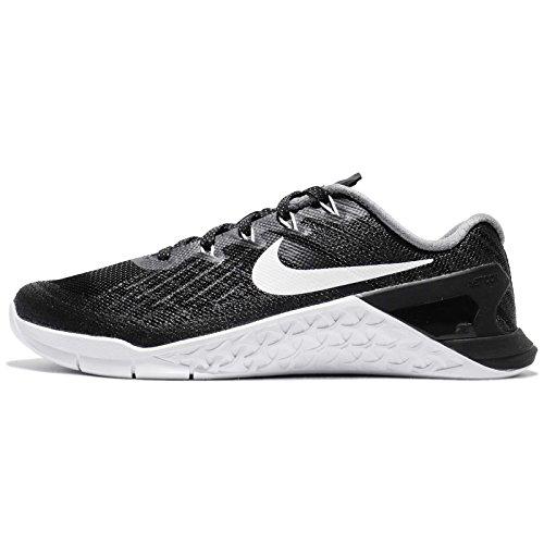 Nike Women's WMNS Metcon 3, Black/White, 11.5 M US
