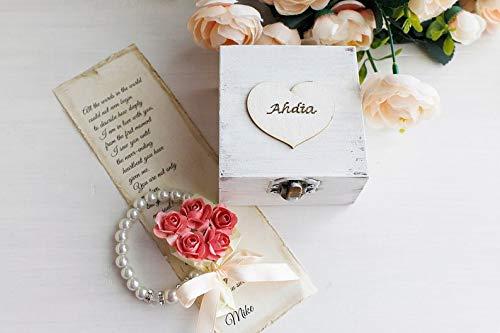Erste Hochzeitstag Geschenk für Frau, personalisierte Papiergeschenk