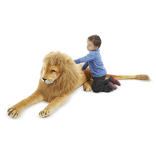 Melissa & Doug Lion - Plush | Soft Toy | Animal | All Ages | Gift for Boy or Girl