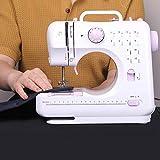 1 piezas Máquina de Coser Máquina de Coser Eléctrica Máquina de Coser mecánica Sewing Machine Mini máquina de coser eléctrica multifuncional para el hogar Mini máquina de coser overlock para el hogar