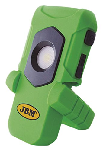 JBM 52883 Lámpara cob base articulada imantada con batería