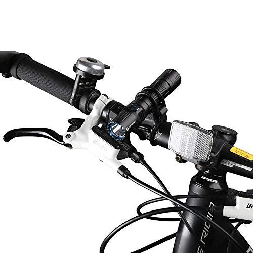 OLIGHT FB-1 Universal-Fahrradhalterung für das Radfahren, verstellbare, Flexible, elastische Halterung, Taschenlampe mit max. Durchmesser. von 10 mm bis 35 mm S30R III / M2R / R50 PRO / M1X - 3
