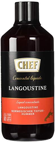 Chef Concentré Liquide Langoustine - Aides Culinaires, Bouillons Et Assaisonnements - Bouteille De 1l