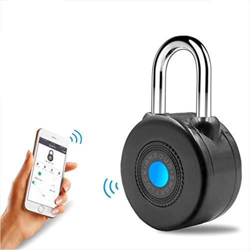 Bloqueo de Alarma antirrobo con Bloqueo Inteligente Bluetooth para Puerta de Motocicleta en Bicicleta con Control de APLICACIÓN