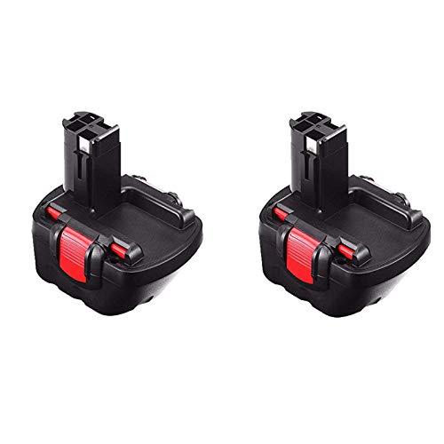 Powayup Reemplazo para Bosch 12V 3,0Ah Ni-Mh Batería BAT043 BAT045 BAT046 BAT049 BAT139 22612 3360 3455 32612 3360K 3455-01 2607335274 2607335709 2609200306 Exact 700 PSB 12VE-2 GBH 12VRE GLI 12V GSB