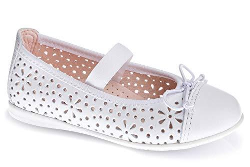 Zapatos Bailarina para niña Pablosky Blanco 343808