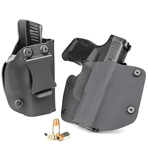 R&R Holsters OWB & IWB Combo Pack - Black (Right-Hand, SIG P365, P365 SAS)