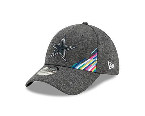New Era Dallas Cowboys 39thirty Stretch Cap NFL 2019 On Field Crucial Catch Graphite - S-M