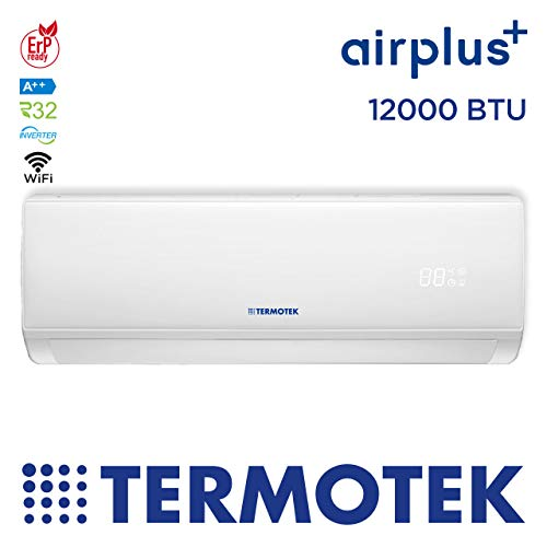 TERMOTEK AIRPLUS C12 - AIRE ACONDICIONADO 12000 BTU WIFI INVERTER R32