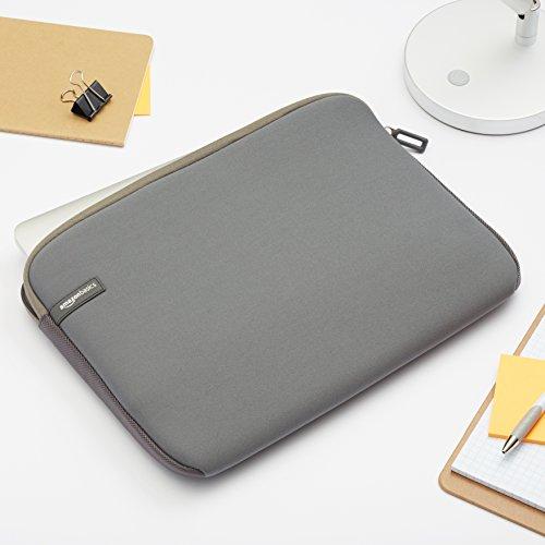 Amazon Basics Laptop-Schutzhülle,13,3 Zoll, Grau