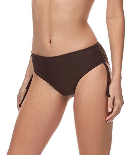 Merry Style Slip Bikini Pezzo sotto Costume MSVR2 (Marrone (8157), 46)
