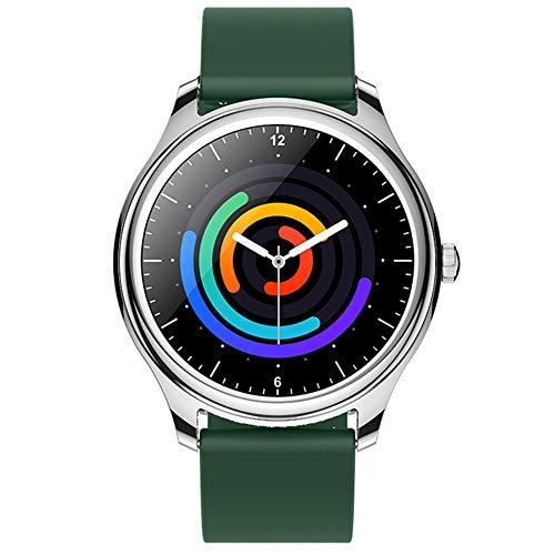 ZWW De Las Mujeres De Spo2 Monitor De IP68 A Prueba De Agua Reloj Inteligente Múltiple Relojes Inteligentes Android para iOS, con Estilo Elegante De Los Relojes Deportivos Modos De Las Mujeres,B