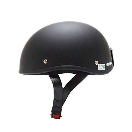 [ビーアンドビー]バイク用ダックテールヘルメットSGマーク適合品マットブラックフリーサイズBB-700
