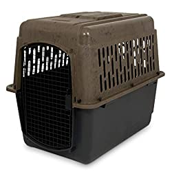collapsible plastic dog crate Foldable plastic dog crate