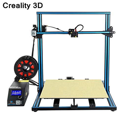 Laecabv Creality CR-10S5 Imprimante 3D 3D grand volume de construction DIY Imprimante 3D Combi -215500 -Combi -2mm - Positioning Précision 0,012 mm - Motion Speed 200 mm/s