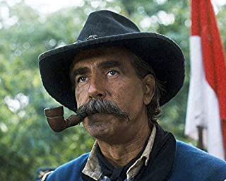 Sam Elliott in Gettysburg Smoking Pipe Civil War Brigadier General John Buford 16x20 Canvas