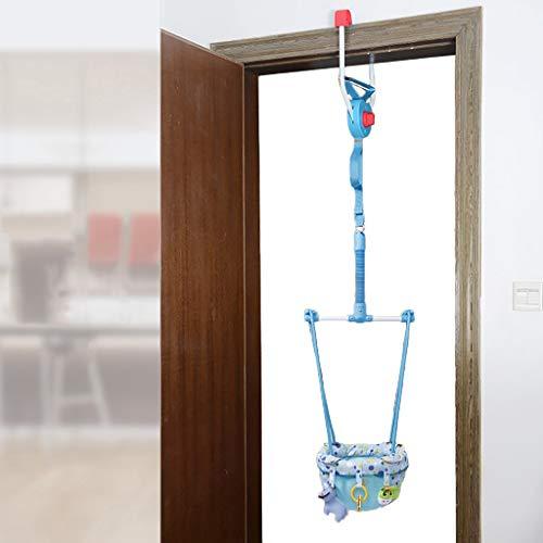 Best Review Of Baby Door Jumper Baby Door Jumper,Multi-Function Baby Hang Jump Seat Exerciser with D...