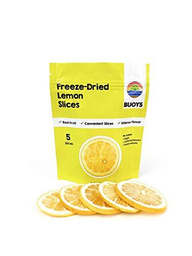 Freeze-Dried Lemon Slices (4 packs of 5 slices)