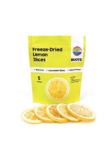 Freeze-Dried Lemon Slices (4 packs of 5 slices)