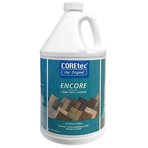 COREtec ENCORE 03Z77 Floor Cleaner Care for Luxury Vinyl Flooring Ready To Use 1 Gallon Refill