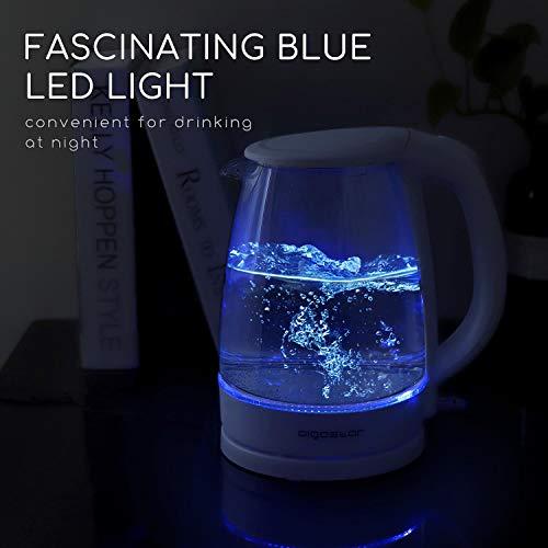 Aigostar Eve 30GON - Bouilloire électrique en cristal...