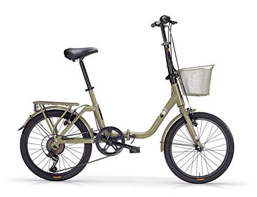 """MBM K A N G A R O O, Bici Pieghevole Unisex – Adulto, Verde A10, 20"""""""