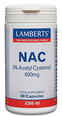Lamberts Nac N-Acetil Cisteina 600Mg 60 Unidades 80 g