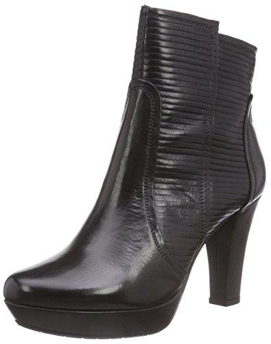 Gerry Weber Shoes Damen Ella 12 Kurzschaft Stiefel, Schwarz (schwarz 100), 39 EU
