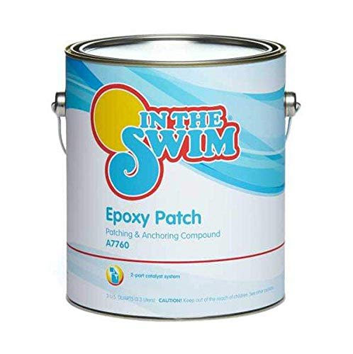 In The Swim Poxy Patch High Strength Epoxy Pool Repair Compound - White 1 Gallon