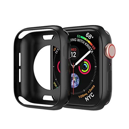 MOODER Correa para Apple Watch Band 6 44/40 mm para Iwatch Band 42 mm 38 mm Bumper Protector de pantalla para Apple Watch Series 5 4 3 2 1