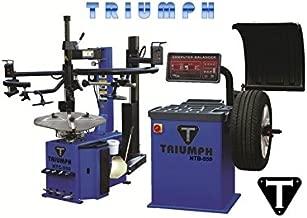 TRIUMPH NTC-950-2 NTB-800 Tire Changer Wheel Balancer Combo Package