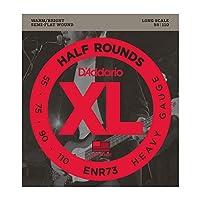 DADDARIO (ダダリオ) ベース弦 ENR73 Half Rounds Bass Heavy 55-110