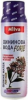 キニーネの水の髪の興奮剤フォルテ - キニーネの増加したコンテンツで抜け毛を減らし、成長と強度を促進します100mlを助けます!