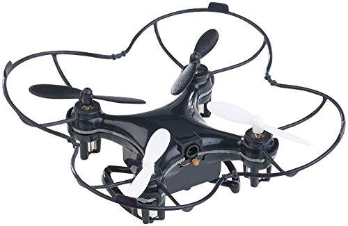 Simulus Hubschrauber: Mini-Quadrocopter GH-4.Micro V2, 6-Kanal-Fernbedienung, 2,4-GHz-Funk (Drones)