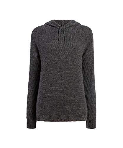 WOOLRICH Damen Eco Rich Toketee Sweater Hoodie Pullover, Asche, X-Groß