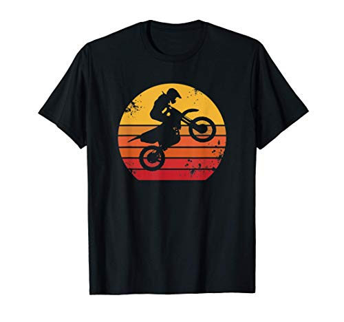 Motocross - Vintage Retrò Maglietta