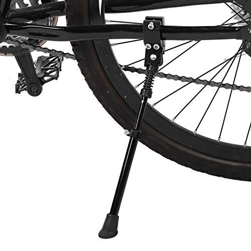 CHICIRIS Bike Kickstand- Adjustable Aluminium Alloy 2Pcs Mountain Bike Side Bicycle Stand Kickstand Fit for 22' 24' 26' 28'
