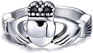 خاتم فضة نسائي مطلي بالفضة من بلونا، مقاس 5، R020