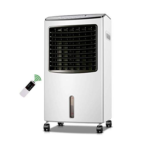 Enfriador de Aire , Acondicionador de aire, móvil, sin manguera silenciosa Súper viento enfriamiento industrial 4 en 1 ventilador de aire acondicionado mecánico con calentador de ventilador, humidific