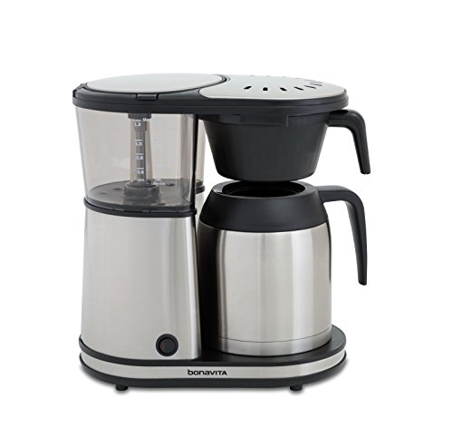 Bonavita Connoisseur 8-Cup One-Touch Coffee Maker, BV1901TS