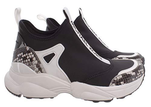 Sneakers Mujeres MICHAEL KORS 43T0WLFP2D Willow Blk Cuero Tejido