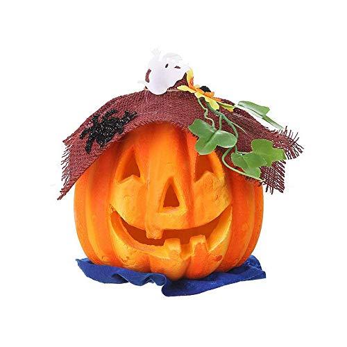 Y & Z Halloween Pompoenlampen Lantaarns, Evil Horror Batterij aangedreven Jack O Lantaarn Geschikt voor Feestvakantie Decoratie Binnen Buiten
