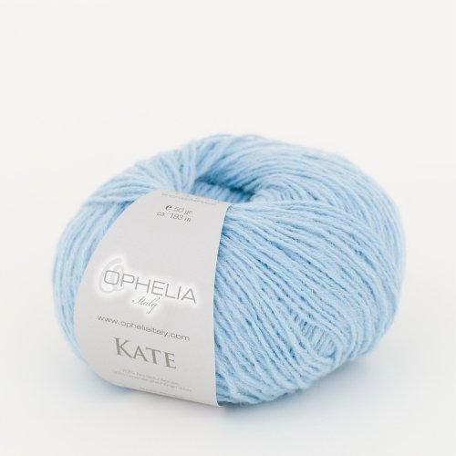 Ophelia Italy Kate - Gomitoli Lana 50g Filato Classico lineare 30% Lana Vergine 70% Acrilico...