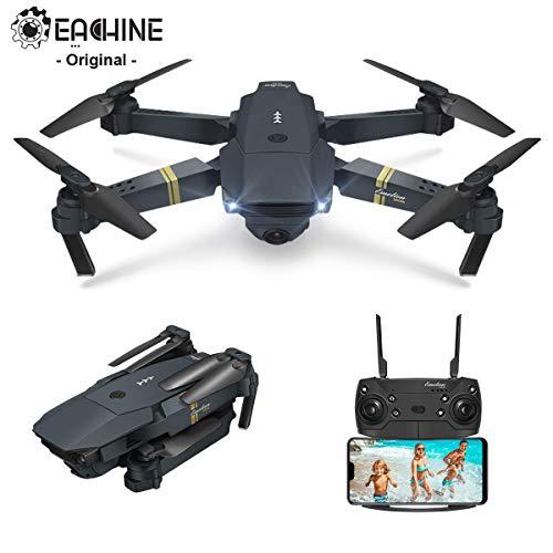 EACHINE Drone Pliable E58 Drone avec caméra 2.0MP 720P HD Drone x Pro Drone E58 Authentique /...
