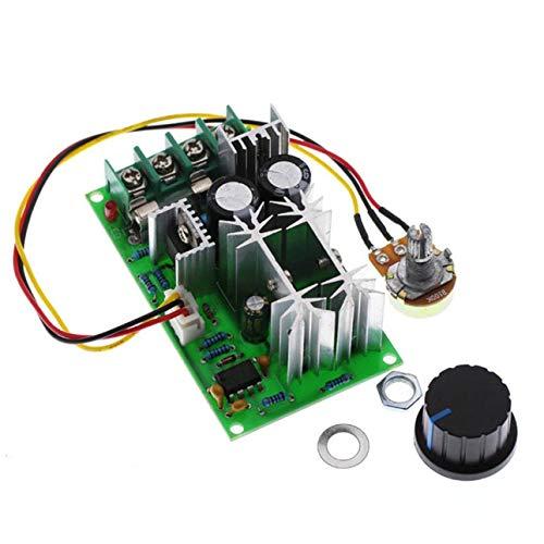 Ba30DEllylelly Control de Velocidad del Motor Regulador de Motor DC 12V 24V 36V 48V Controlador de módulo de accionamiento de Alta Potencia Regulador de Corriente 20a